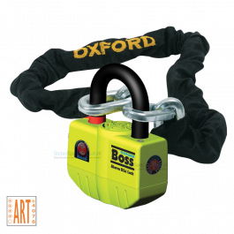 Oxford Boss Alarm met Ketting ART 4 - 150 cm