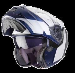 Caberg Systeemhelm Duke Impact - Wit / Blauw