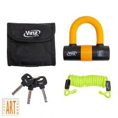 Vinz Dinara Disc Brake Lock Orange - Overview