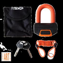 SXP Schijfremslot ART 4 - Oranje
