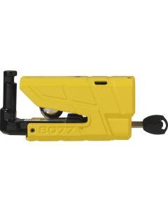 Abus Granit Detecto 8077 Yellow Schijfremslot ART4 - met alarm