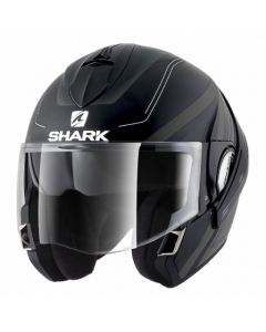 Shark Evoline 3 Hyrium - Zwart / Antraciet / Wit
