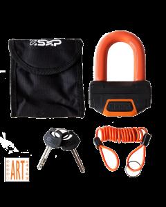 SXP Oranje Schijfremslot - ART4